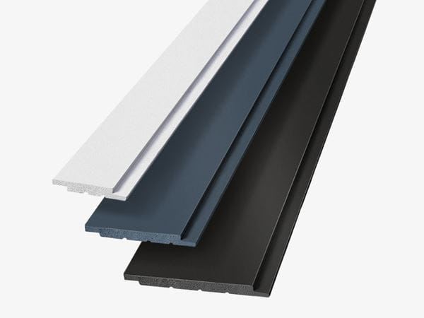 Style difference in shiplap cladding board widths