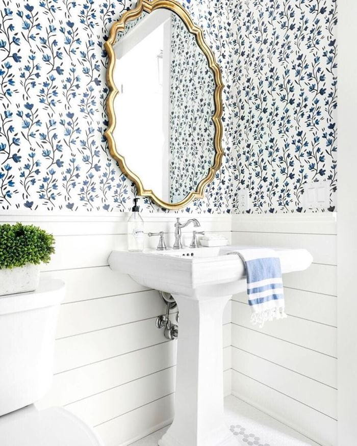Is it safe to install shiplap in your bathroom?