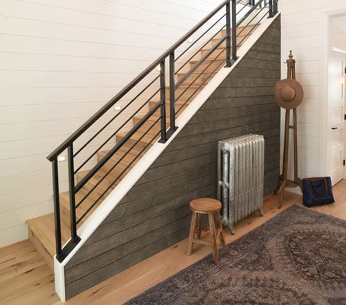 Rustic Collection Shiplap Staircase