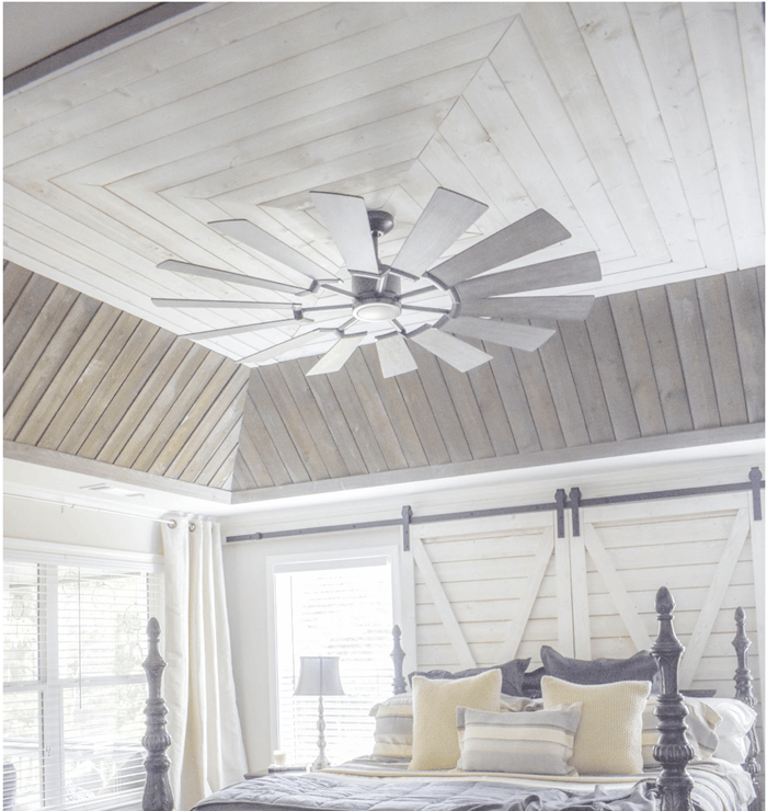 Ceiling Shiplap Master Bedroom