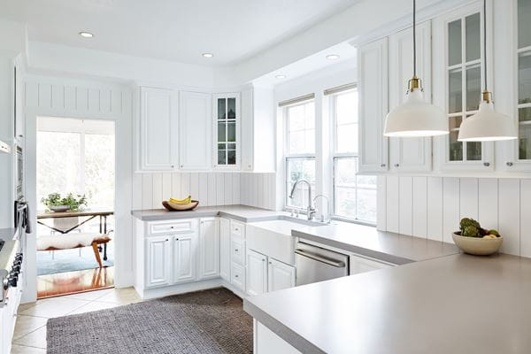 Timeless Farmhouse White Kitchen