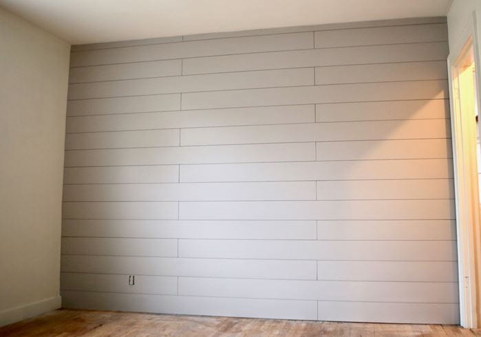 Final Timeless Gray Shiplap Wall