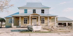 Front of house build in progress_PalmGrove_cropped