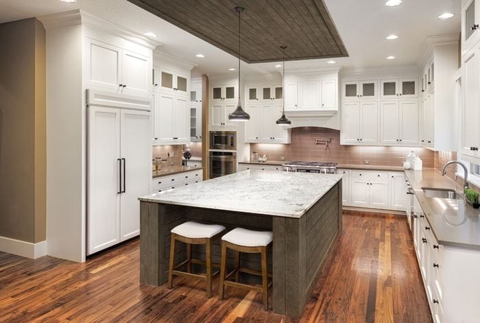 Barnwood Rustic Collection Kitchen Ceiling