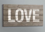 UFP-Edge Rustic Collection love sign craft project